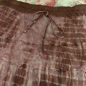 Metrowear Long  Lined Skirt